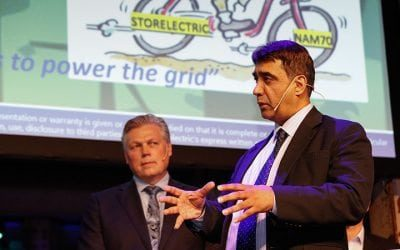 Storelectric wins international competition and contract for 'game-changer' large-scale storage of renewable energy