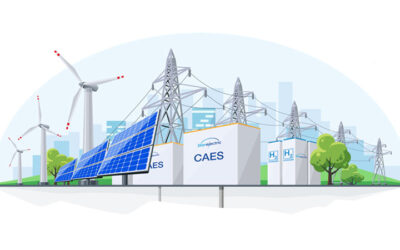CAES with Hydrogen Patent Granted